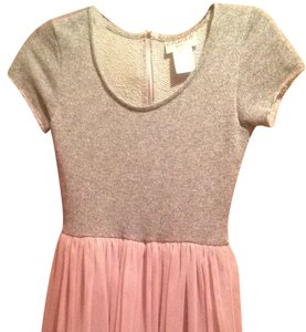 Wet Seal short dress Light Gray And Light Pink on Tradesy