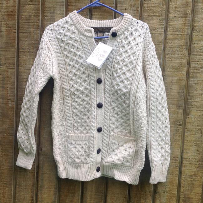 Inis crafts fisherman cardigan tradesy for Inis crafts ireland sweater