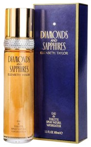 Elizabeth Taylor DIAMONDS and SAPPHIRES EDT Spray ~ 3.3 oz / 100 ML
