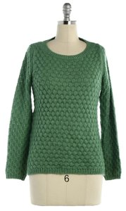 Anthropologie Thick Knit Knitted Honeycomb Sweater