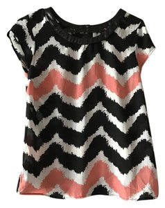 2b bebe Top Black/White/Pink