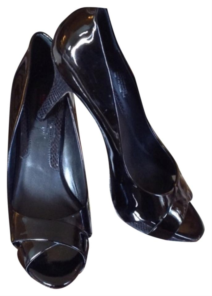 c23baf02a5 White House | Black Market Patent Leather Platforms Size US 10 ...