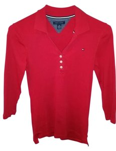 Tommy Hilfiger Top Red