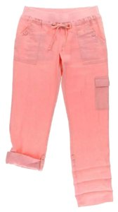 INC International Concepts Cargo Casual Friday Relaxed Pants Pink