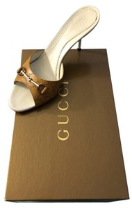 Gucci Horsebit Mules beige Sandals
