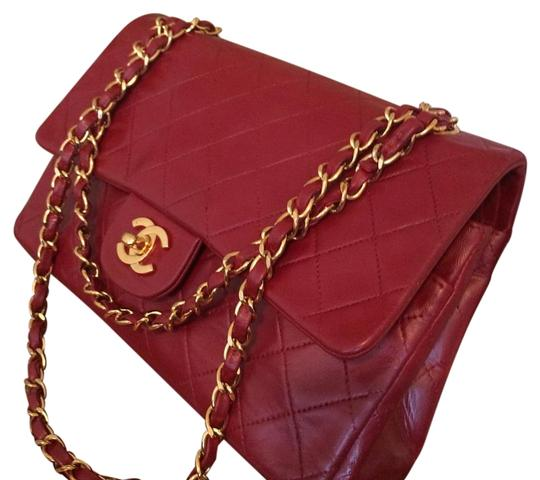 Preload https://item2.tradesy.com/images/chanel-255-reissue-255-reissue-classic-flap-medium-10-ghw-red-leather-shoulder-bag-1146261-0-3.jpg?width=440&height=440