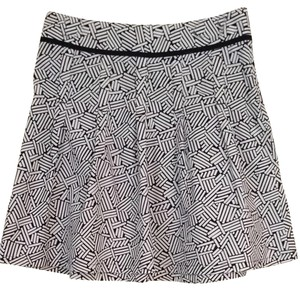 Ann Taylor LOFT Skirt Black & White
