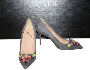 J.Crew Heron Grey Pumps