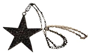 Other NEW BLACK FIVE POINTED STAR PENDANT NECKLACE