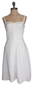 Free People short dress IVORY Tea Knee Length on Tradesy