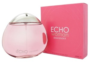 davidoff ECHO WOMAN by ZINO DAVIDOFF Eau de Parfum Spray ~ 3.4 oz / 100 ml