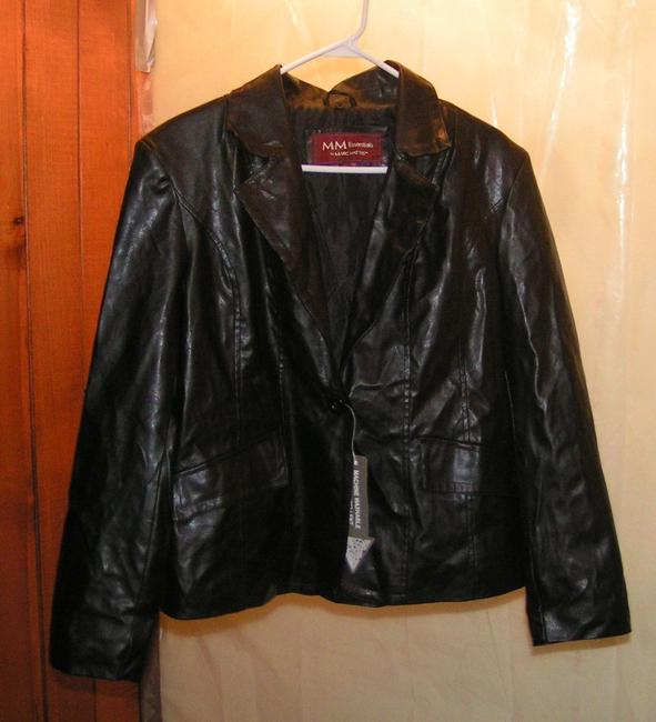 Marc Mattis Faux Leather Man Made Sexy Leather Jacket