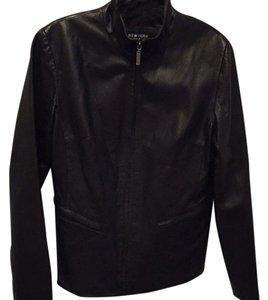 New York & Company Leather Jacket