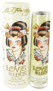 Christian Audigier ED HARDY LOVE & LUCK Womens EDP Spray ~ 3.4 oz / 100 ml