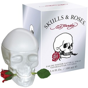 Christian Audigier ED HARDY SKULL & ROSES by CHRISTIAN AUDIGIER Womens EDP Spray ~ 3.4 oz / 100ml