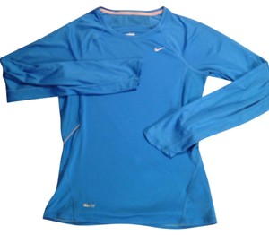 Nike Nike Long Sleeve Blue Drit Fit Top