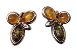 Other Genuine Amber Post Earrings