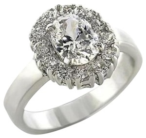 Other New Size 7, 2.1 CT. Rhodium Plated Cubic Zirconia Ring