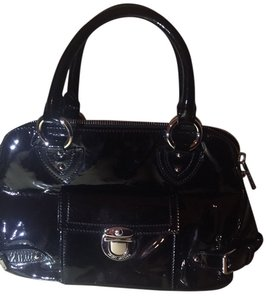 Marc Jacobs Leather Crossbody Tote in Black