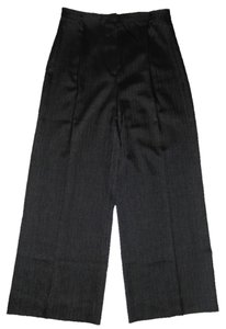 Anne Klein Wool Size 8 Trouser Pants Black