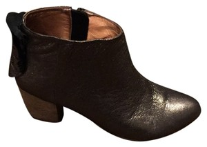 Miss Albright Pewter with wood heel. Boots