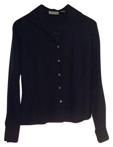 Preview Collection Collared Jacquard Buttons Nordstom Top Black