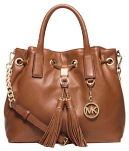 MICHAEL Michael Kors Camden Satchel in Luggage