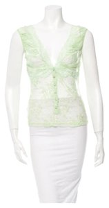 Dolce&Gabbana Top Light green