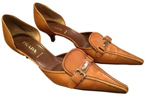 Prada Camel Pumps