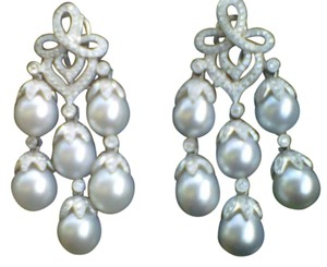 Fargier South sea Pearls Chandelier with diamonds