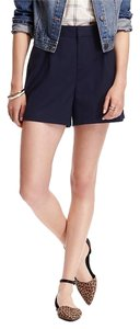 Old Navy High-rise Twill New Nwt Dress Shorts Navy Blue
