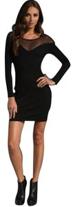 Laugh Cry Repeat Mesh Long Sleeve Lbd Lover Loveandlemons Dvf Club Birthday Winter Date Valentines Saks Dress