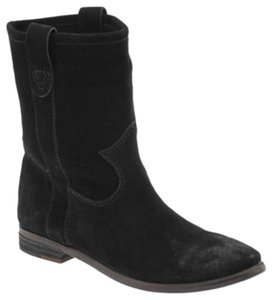 Vince Camuto Black Suede Boots