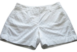 White House | Black Market Dress Shorts White
