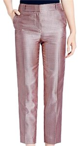 Kate Spade Straight Pants Pink Multi