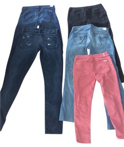 7 For All Mankind Skinny Jeans-Dark Rinse