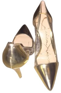 Jessica Simpson Gold/yellow Pumps