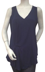 DREW Jersey Top Navy Blue