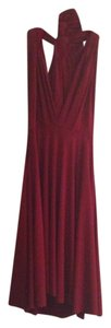 Von Vonni short dress Dark Red Transformer Versatile Formal Sexy on Tradesy