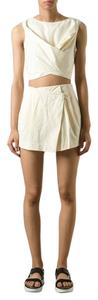 Marc Jacobs Casual Party Cotton Mini Skirt Blonde
