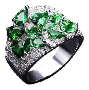 Other Brand new gemstone ring with cubic zirconia