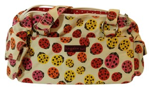 Bungalow 360 New Cream Red Pink Yellow Shoulder Bag