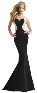 Janique Prom Evening Gown Strech Size 8 Dress