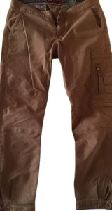 AG Adriano Goldschmied Cropped Cargo Pant Cargo Pants Ginger