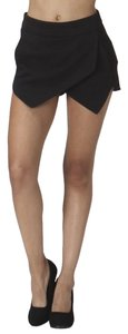Other Skort Mini Skirt Shorts Black