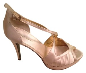 Nine West Heels Champagne Formal