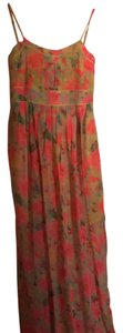 multi colored rose print Maxi Dress by Esley