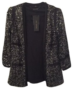 Rachel Zoe Sequined black Blazer