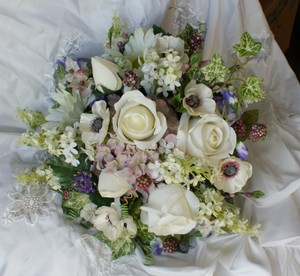 Lifelike Spring Wildflower Style Wedding Package