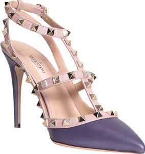 Valentino Brand New In Box PURPLE Pumps